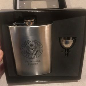 NWT stainless steel hip flask